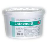 Матовая супербелая высокоукрывистая дисперсионная краска Latexmatt
