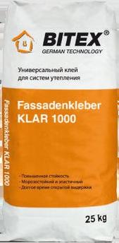 BITEX Fassadenkleber KLAR 1000