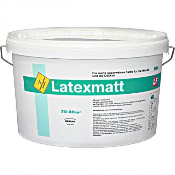 Матовая супербелая высокоукрывистая дисперсионная краска высшего качества для внутренних работ, обладает сильной адгезией, экологична, не содержит растворителей.