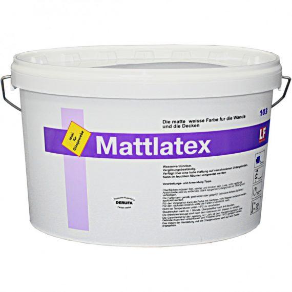 Шелковисто-матовая белоснежная краска MATTLATEX LITE предназначена для наружных и внутренних работ. Она применяется для окраски всех видов поверхности, в том числе и асбестоцемента, штукатурки, картона, гипсокартона, бетона, кирпича, а также для дерева, ДСП и ДВП.