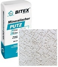 Фасадная штукатурка короед bitex mineralischer putz